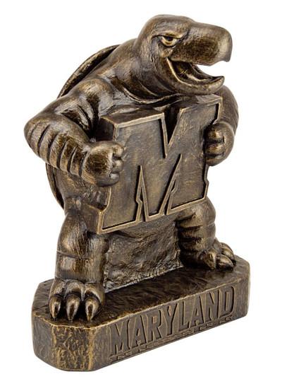 Maryland Terrapins Vintage Mascot Garden Statue