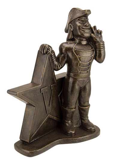 Vanderbilt Commodores Bronze Mascot Garden Statue | Stonecasters | 2968BR