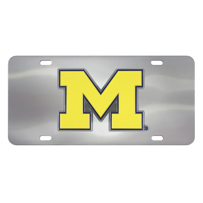 Michigan University Diecast License Plate | Fanmats | 24519