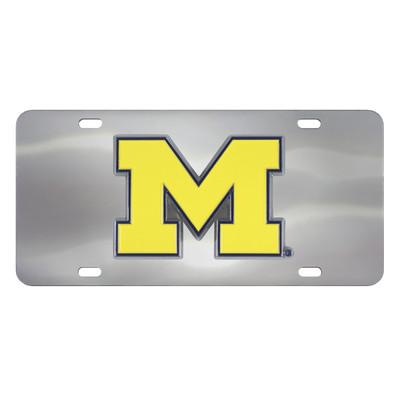Michigan University Diecast License Plate | Fanmats | 24519