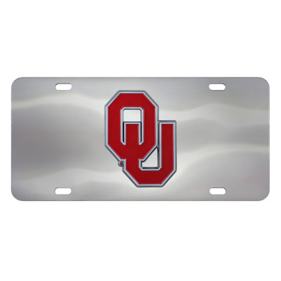 Oklahoma Sooners Diecast License Plate | Fanmats | 24527