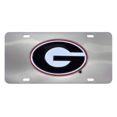 Georgia Bulldogs Diecast License Plate | Fanmats | 24518