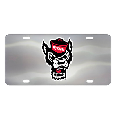 NC STATE Wolfpack Diecast License Plate | Fanmats | 26814