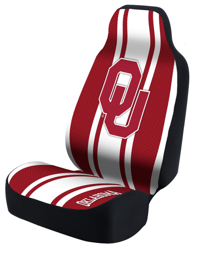 Oklahoma Sooners Universal Car Seat Cover| Coverking | USCSELA005