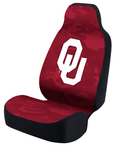 Oklahoma Sooners Universal Car Seat Cover| Coverking | USCSELA124