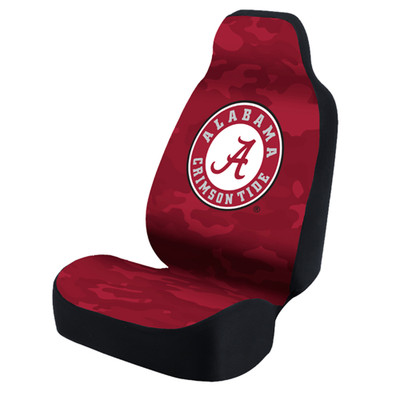 Alabama Crimson Tide Universal Car Seat Cover| Coverking | USCSELA078