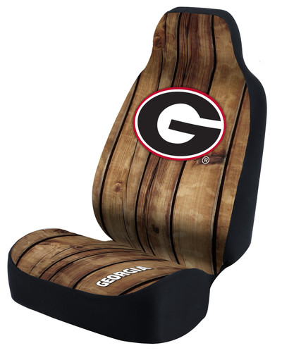 Georgia Bulldogs Universal Car Sear Cover| Coverking | USCSELA113