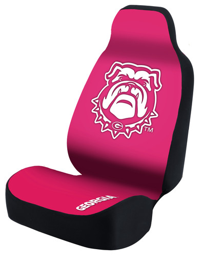 Georgia Bulldogs Universal Car Sear Cover| Coverking | USCSELA114