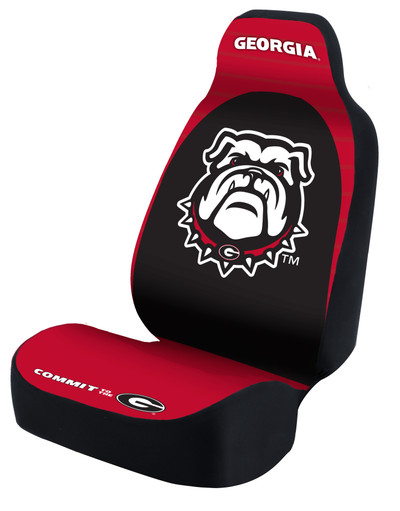 Georgia Bulldogs Universal Car Sear Cover| Coverking | USCSELA117