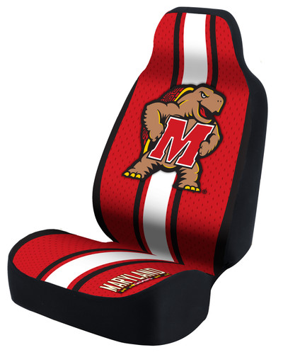 Maryland Terrapins Universal Car Seat Cover| Coverking | USCSELA041