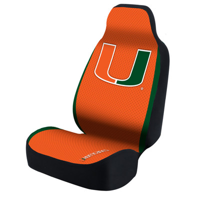 Miami Hurricanes Universal Car Seat Cover| Coverking | USCSELA071