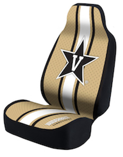 Vanderbilt Commodores Universal Car Seat Cover | Coverking | USCSELA060