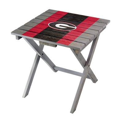 Georgia Bulldogs Adirondack Folding Table | Imperial | IMP744-3008