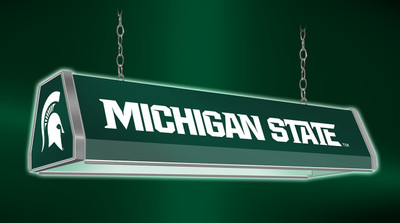 "Michigan State Spartans 38"" Standard Pool Table Light-Green 