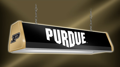 "Purdue Boilermakers 38"" Standard Pool Table Light-Black 