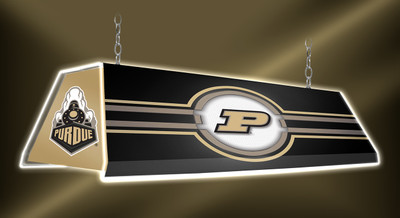 "Purdue Boilermakers 46"" Edge Glow Pool Table Light-Black 