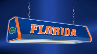 "Florida Gators 38"" Standard Pool Table Light-Blue |Grimm Industries | UF-310-01"