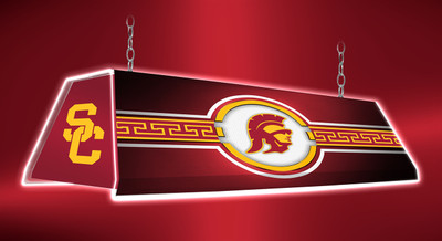 "USC Trojans 46"" Edge Glow Pool Table Light-Trojan 