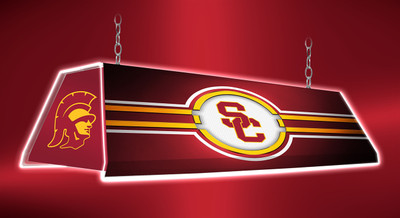 "USC Trojans 46"" Edge Glow Pool Table Light 