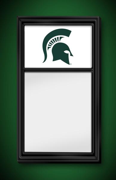 Michigan State Spartans Team Board Whiteboard-Logo White | Grimm Industries | MS-610-02