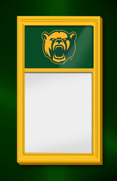 Baylor Bears Team Board Whiteboard-Bear | Grimm Industries |BA-610-02