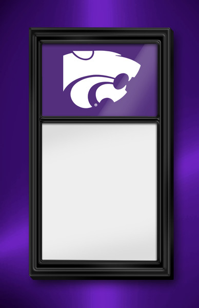 Kansas State Wildcats Team Board Whiteboard Logo-Purple | Grimm Industries | KS-610-02