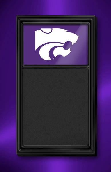 Kansas State Wildcats Team Board Chalkboard Logo-Purple | Grimm Industries | KS-620-02