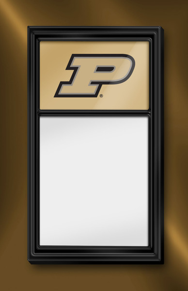 Purdue Boilermakers Team Board Whiteboard Logo-Gold | Grimm Industries | PU-610-01