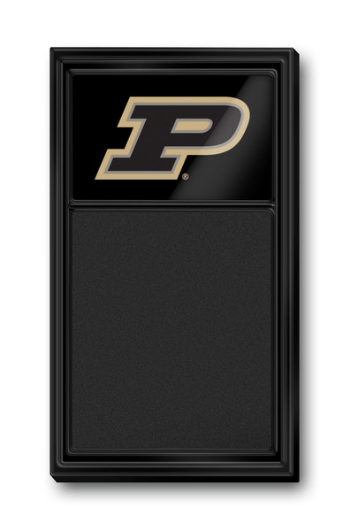 Purdue Boilermakers Team Board Chalkboard Logo-Black | Grimm Industries | PU-620-02
