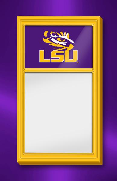 LSU Tigers Team Board Whiteboard Logo-Gold | Grimm Industries | LS-610-01