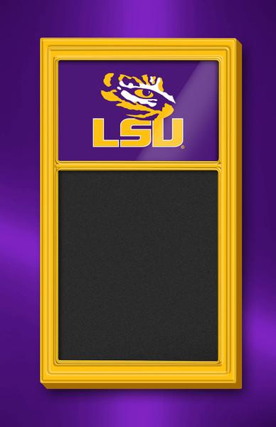 LSU Tigers Team Board Chalkboard Logo-Gold | Grimm Industries | LS-620-01