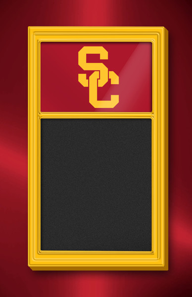 USC Trojans Team Board Chalkboard Logo-Gold | Grimm Industries | US-620-01