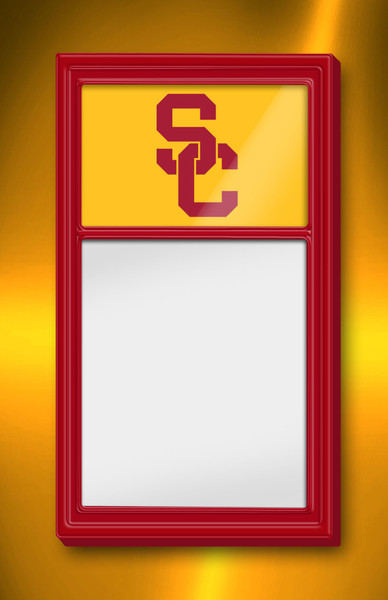 USC Trojans Team Board Whiteboard Logo-Red | Grimm Industries | US-610-01
