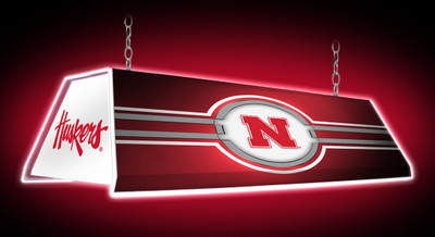 "Nebraska Huskers 46"" Edge Glow Pool Table Light 