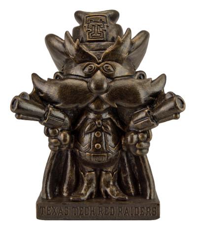 Texas Tech Raiders Bronze Mascot Garden Statue | Stonecasters | 2941BR