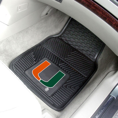 Miami Hurricanes Heavy Duty Car Mats | Fanmats | 8783