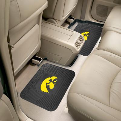Iowa Hawkeyes Utility Car Mats Set of Two | Fanmats | 12282
