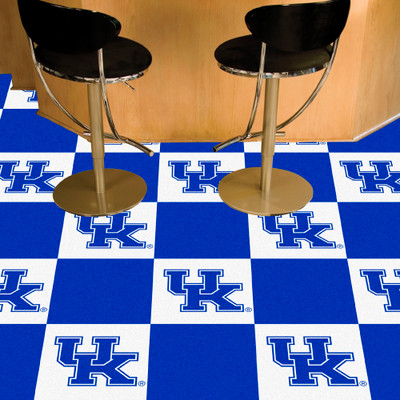 Kentucky Wildcats Carpet Tiles | Fanmats | 24301