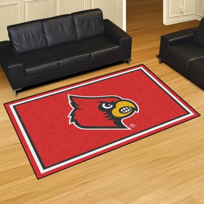 Louisville Cardinals Area Rug 5' x 8' | Fanmats | 20203