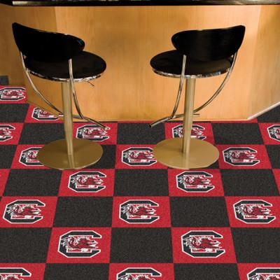 South Carolina Gamecocks Carpet Tiles   Fanmats   18511