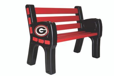 Georgia Bulldogs Park Bench   Imperial  388-3008