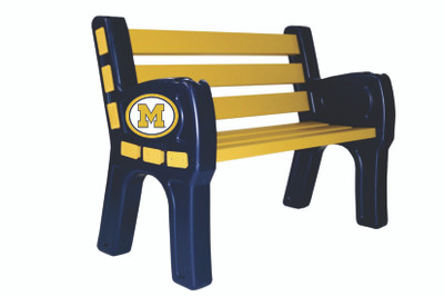 Michigan Wolverines Park Bench | Imperial |388-3009