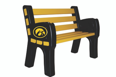 Iowa Hawkeyes Park Bench | Imperial | 388-3018