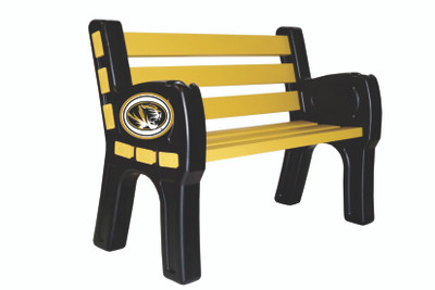 Missouri Tigers Park Bench | Imperial | 388-3019