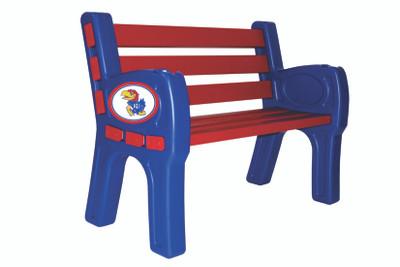 Kansas Jayhawks Park Bench   Imperial   388-3020