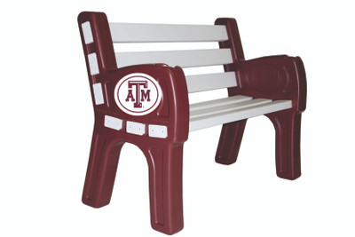Texas A&M Aggies Park Bench | Imperial | 388-3021