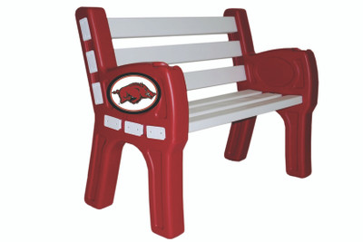 Arkansas Razorbacks Park Bench | Imperial | 388-3022