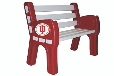 Indiana Hoosiers Park Bench | Imperial | 388-3029