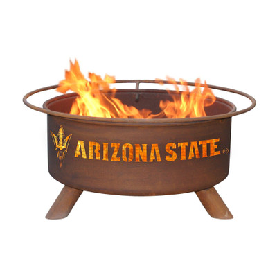 Arizona State Sun Devils Portable Fire Pit Grill | Patina | F401