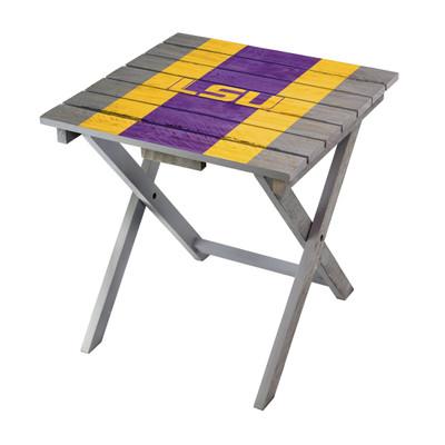 LSU Tigers Adirondack Folding Table | Imperial | IMP744-3005